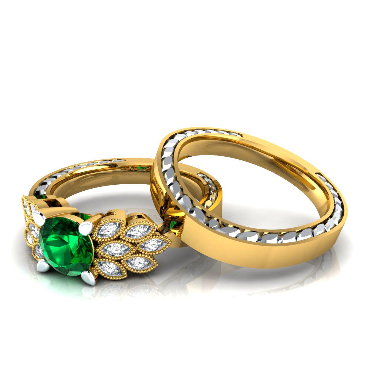 Slr 15602 Pre Em Yg Nikita Jewellers Pvt Ltd