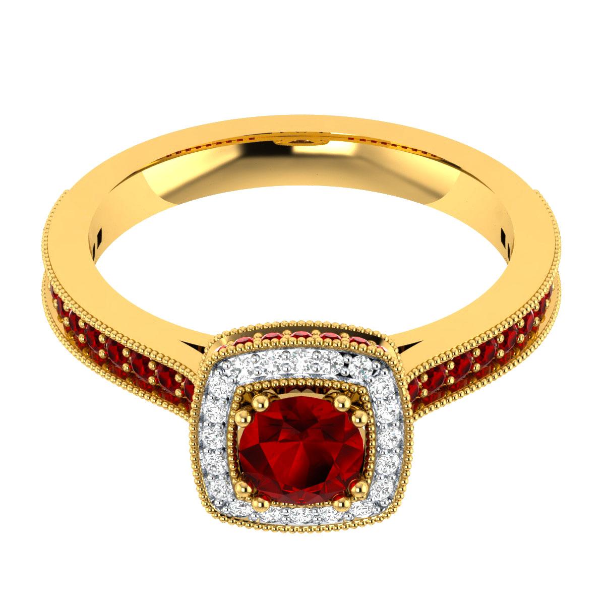 Slr 15604 Top Ru Yg Nikita Jewellers Pvt Ltd