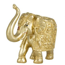 Gold Elephant Idol