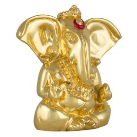 Gold Ganesh Idol