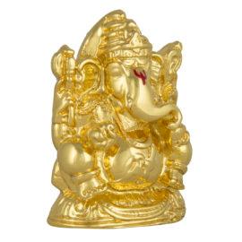Gold Ganesh Idol