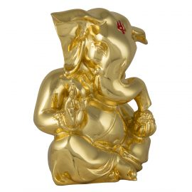 Gold Ganpati Idol