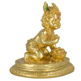 Gold Laddu Gopal Idol