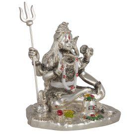 Silver Shiv Shankar Idol