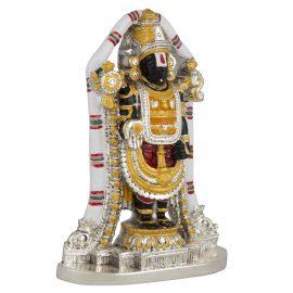 Silver Tirupati Balaji Idol