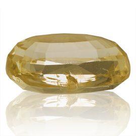 Yellow Sapphire (Pukhraj) -  5.9 carat from Ceylon