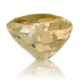 Yellow Sapphire (Pukhraj) -  5.85 carat from Ceylon
