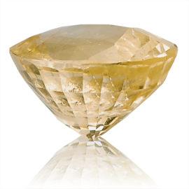 Yellow Sapphire (Pukhraj) -  6.6 carat from Ceylon