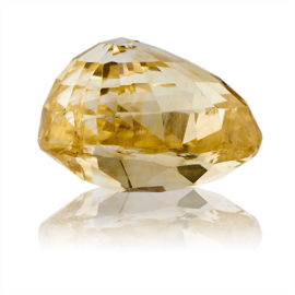 Yellow Sapphire (Pukhraj) -  4.6 carat from Ceylon