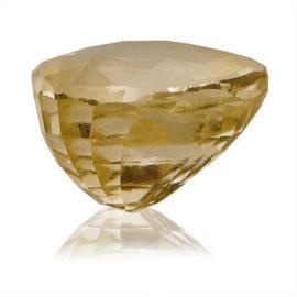 Yellow Sapphire (Pukhraj) -  5.1 carat from Ceylon