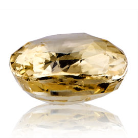 Yellow Sapphire (Pukhraj) -  5.8 carat from Ceylon