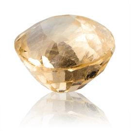 Yellow Sapphire (Pukhraj) -  4.7 carat from Ceylon