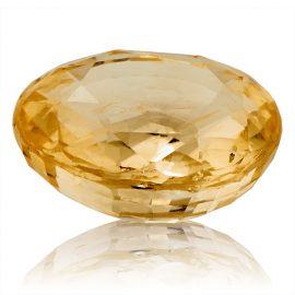 Yellow Sapphire (Pukhraj) -  4.2 carat from Ceylon