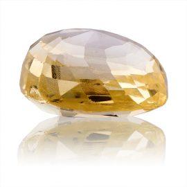 Yellow Sapphire (Pukhraj) -  4.45 carat from Ceylon